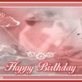 Happy birthday old style card - 070