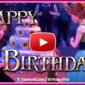 Frozen happy birthday - video-card