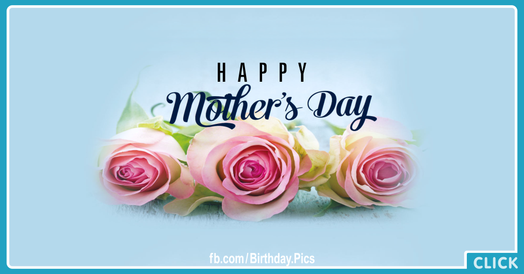 Happy Mothers Day Gold Card