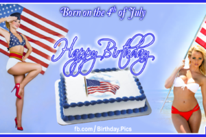 4th July Happy Birthday