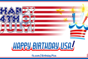 4th July Happy Birthday USA