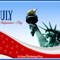 4th July Independence Day card 15