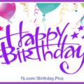Bright Balloons On White Birthday Card
