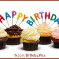 Cupcake Recipes Happy Birthday Card