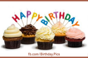Cupcake Recipes Happy Birthday Card