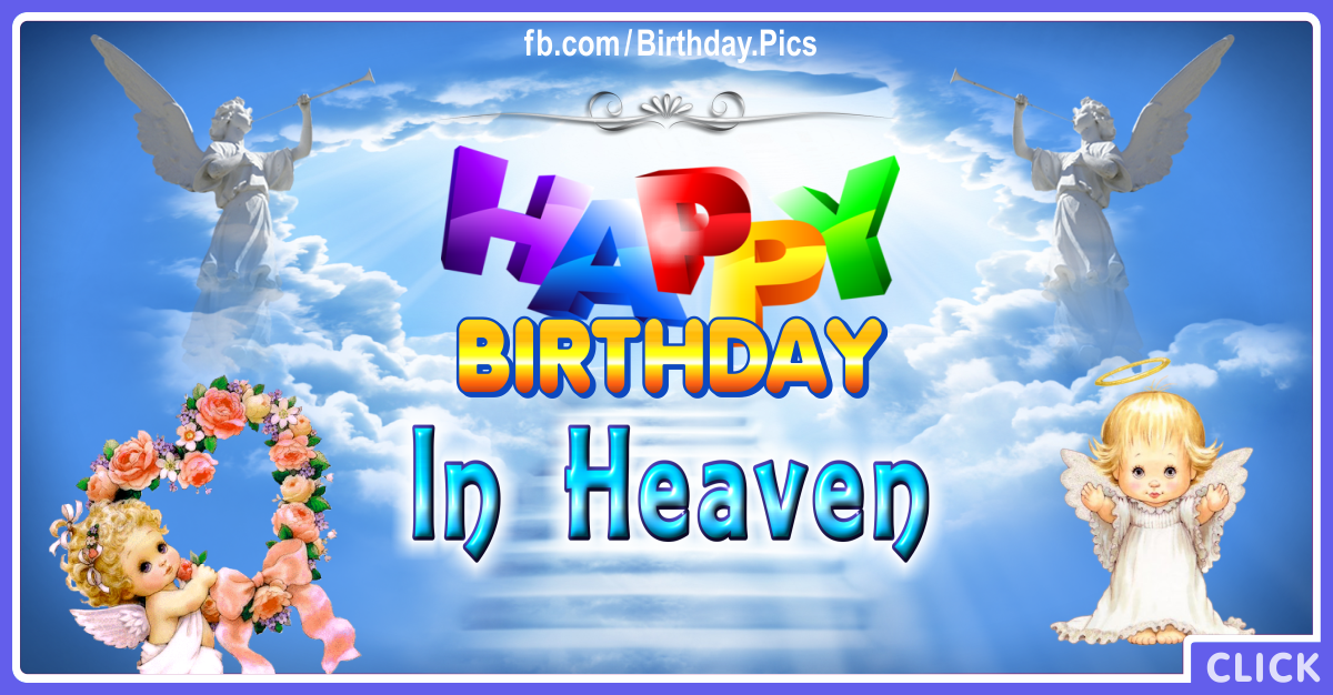 Happy birthday in heaven featured picture