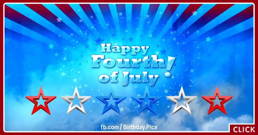 Happy Fourth of July card 05