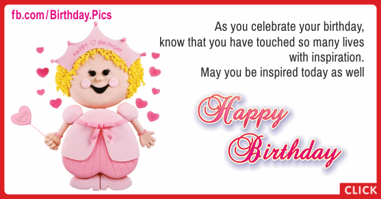 Have Touched Lives Happy Birthday Card