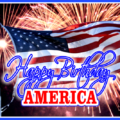 Independence day - happy birthday America card 11