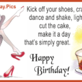 Kick Of Shoes Happy Birthday Card
