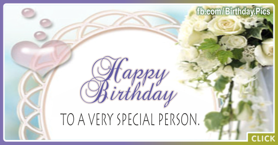 Free Happy Birthday Flower Images For Facebook Flowers Healthy
