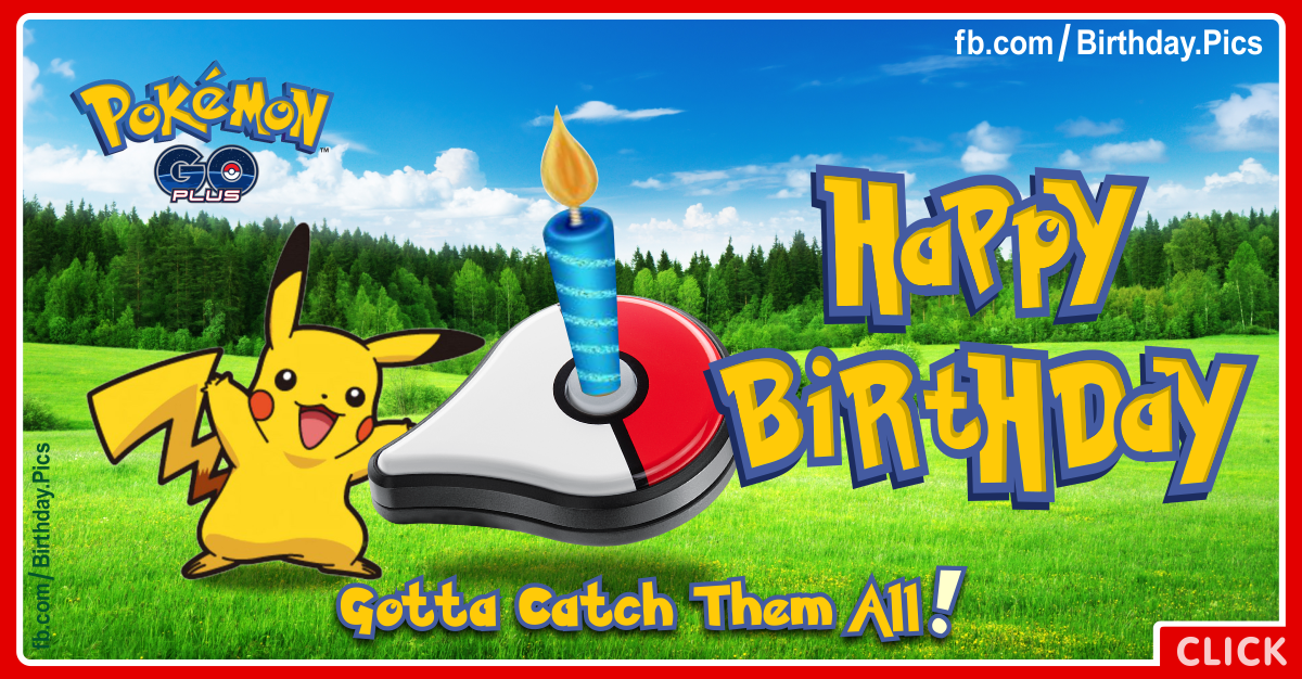 Pikachu Birthday Card gangcraftnet – Birthday Pikachu Card