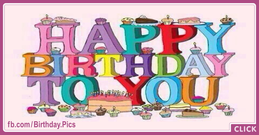 Letters 3d Happy Birthday Card Happy Birthday Videos And Pictures