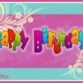 Pastel Ornaments Happy Birthday Card