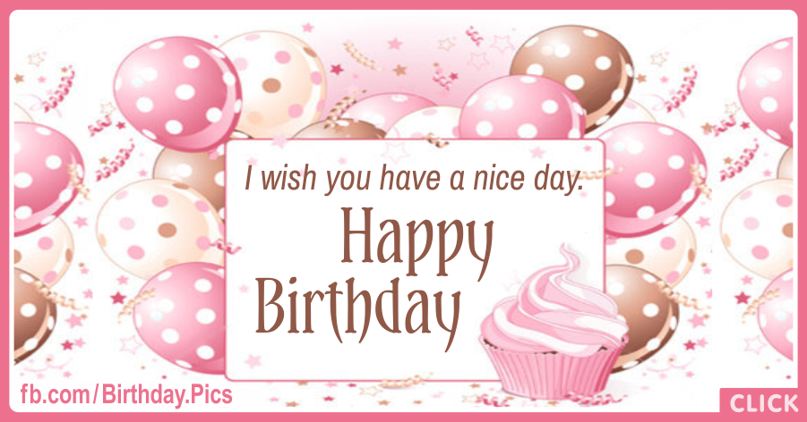 Sweet Pastel Balloons Happy Birthday Card for celebrating