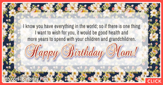 With Grandchildren Happy Birthday Card