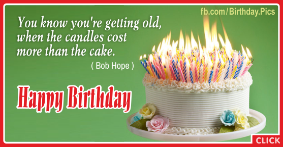 You Are Getting Old Happy Birthday Card