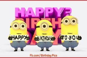 Minions Happy Birthday To You Song