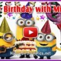 Minions happy birthday video - featured