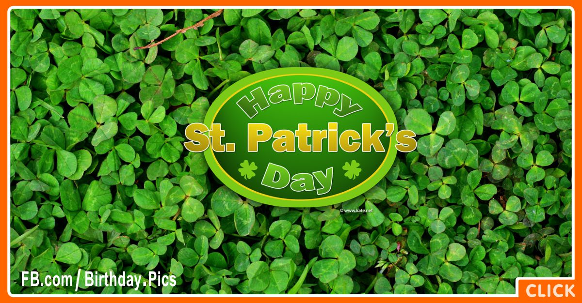 Happy St Patrick's Day Card - 1