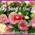 Don McLean Birthday Song With Lyrics - featured
