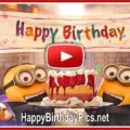 Happy birthday with minions video featured