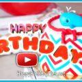 Happy Birthday Balloons Animation Video