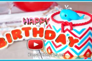 Happy Birthday Balloons Animation Video