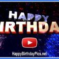 Happy Birthday Fireworks Show Video