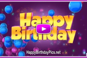 3D Birthday Message Dancing Gift Boxes