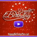 Happy birthday confetti animation - featured