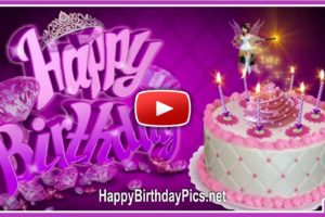 Happy Birthday Princess Fairy Cake