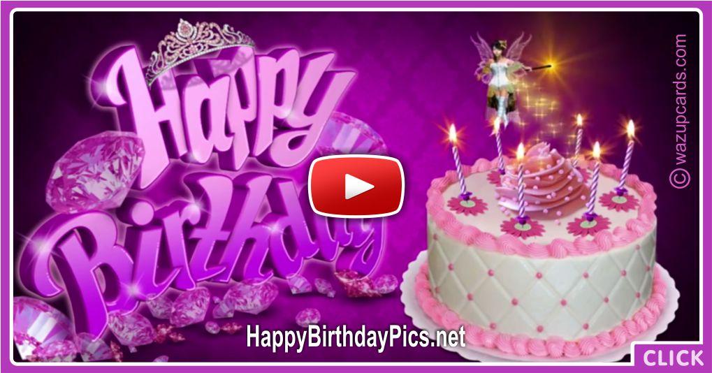 Happy Birthday Princess Fairy Cake