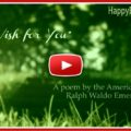 My wish for you on your birthday - featured