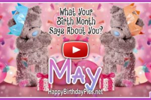What Your Birth Month May Says About You?