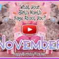 What Your Birth Month November Says About You - featured