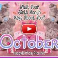 What Your Birth Month October Says About You - featured