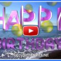 Colorful Happy Birthday Wishing Video