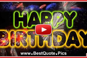 Colorful Fireworks For Your Happy Birthday Video