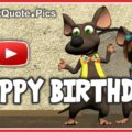 Mice Singing Happy Birthday