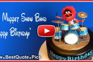 The Muppet Show Band Happy Birthday Song Video