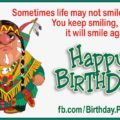 Keep Smiling - Native American Card 1