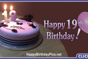 19th Birthday Lavender Party