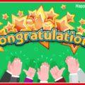 Congratulations Gold Stars