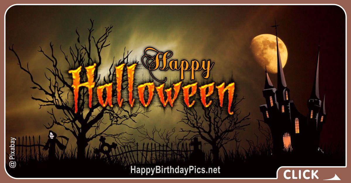 Happy Halloween Castle Design Equivalents