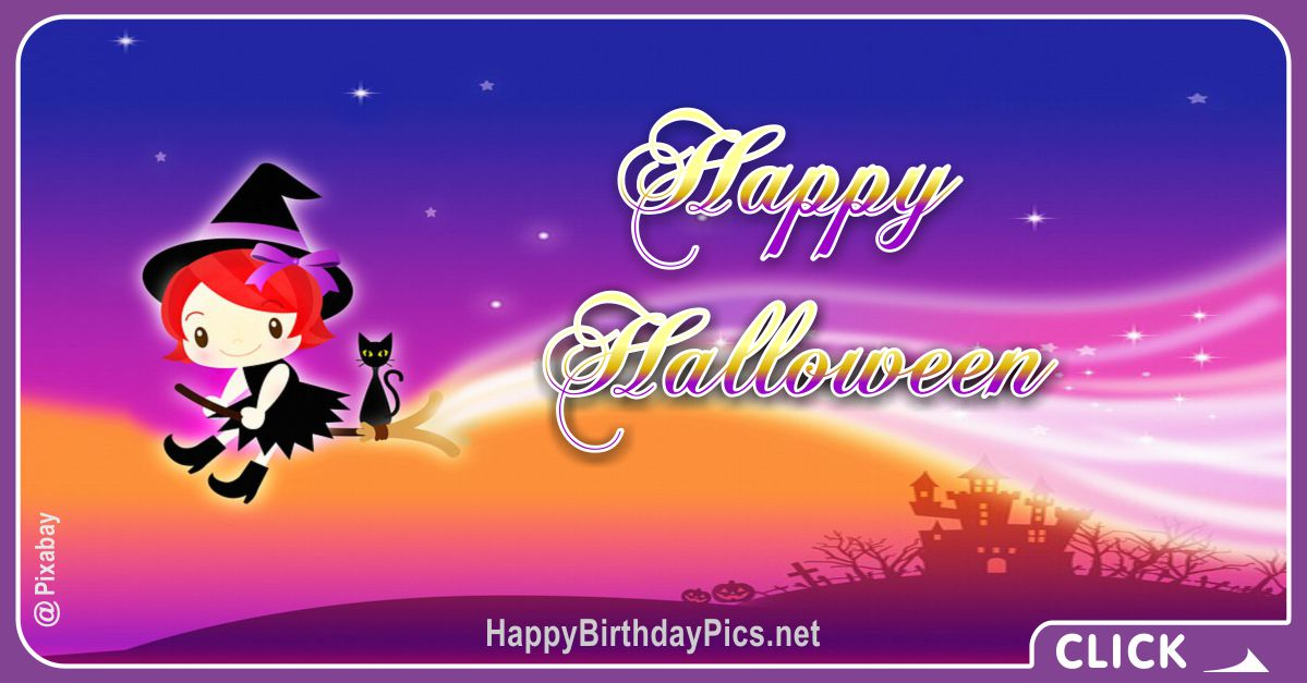Happy Halloween Cute Witch Equivalents