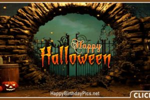 Happy Halloween Horror Gate