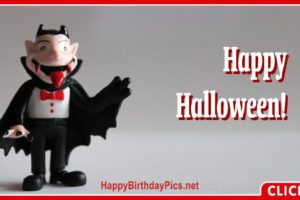 Happy Halloween Vampire Costume