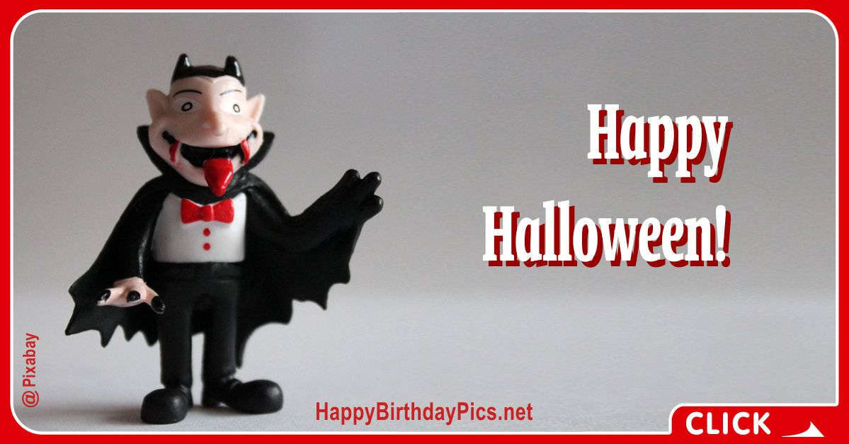 Happy Halloween Vampire Costume Equivalents