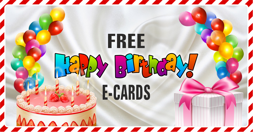 FREE Birthday Greeting Cards for Facebook
